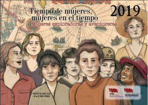 TODO SOBRE NUESTRO CALENDARIO DE MUJERES 2019 EN LA PESTAÑA: ÁREA DE LA MUJER
