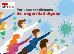 SATE-STEs por la seguridad y la salud de todos los docentes #quédateencasa #teletrabaja